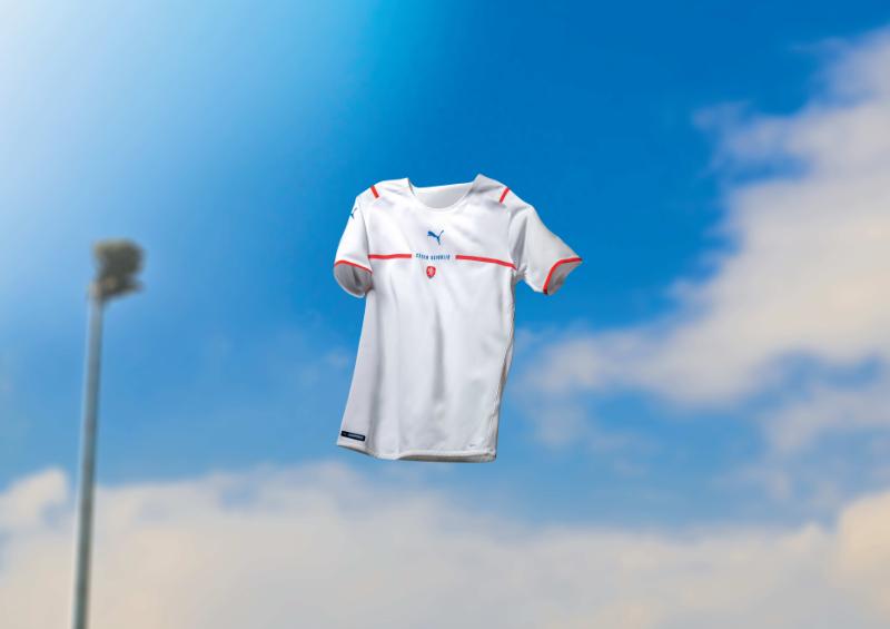 Nový venkovní dres české reprezentace