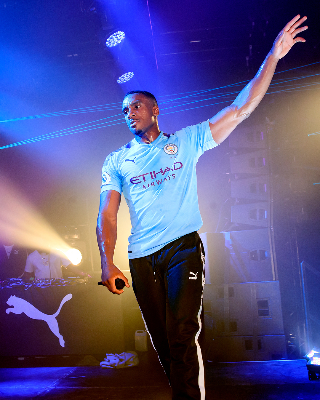 Puma x Man City kit launch