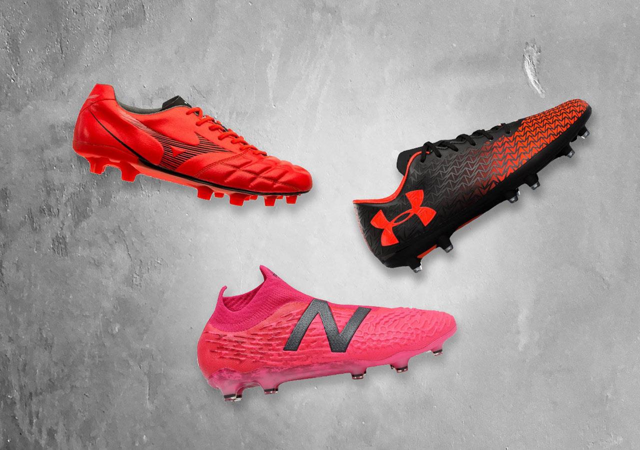 Football boots Mizuno Under Armour New Balance