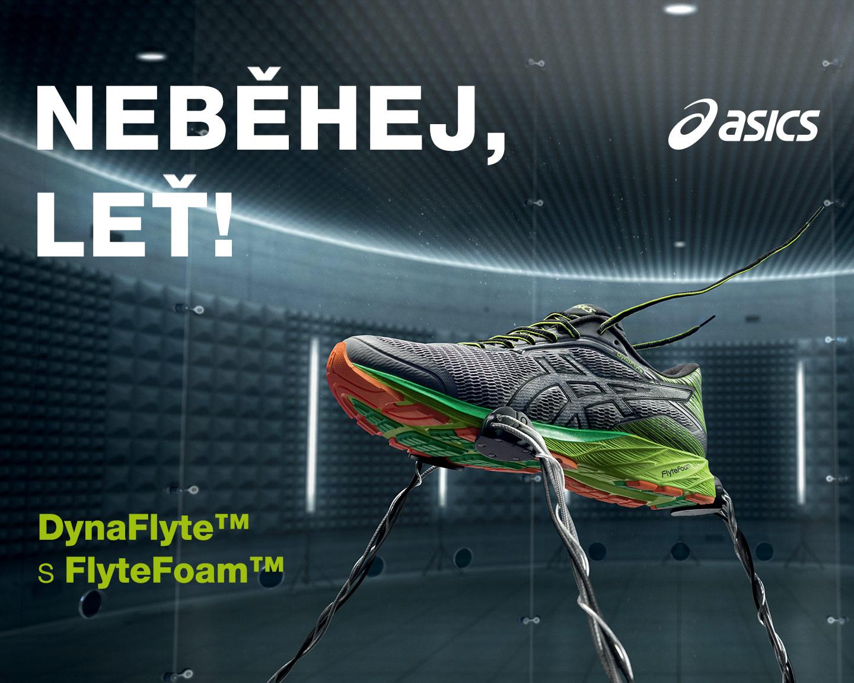 Neběhej, leť! Asics DynaFlyte s FlyteFoam