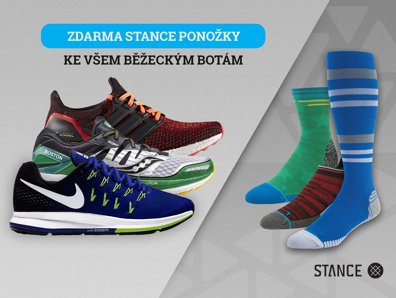 Ponožky Stance jako bonus ke všem běžeckým botám