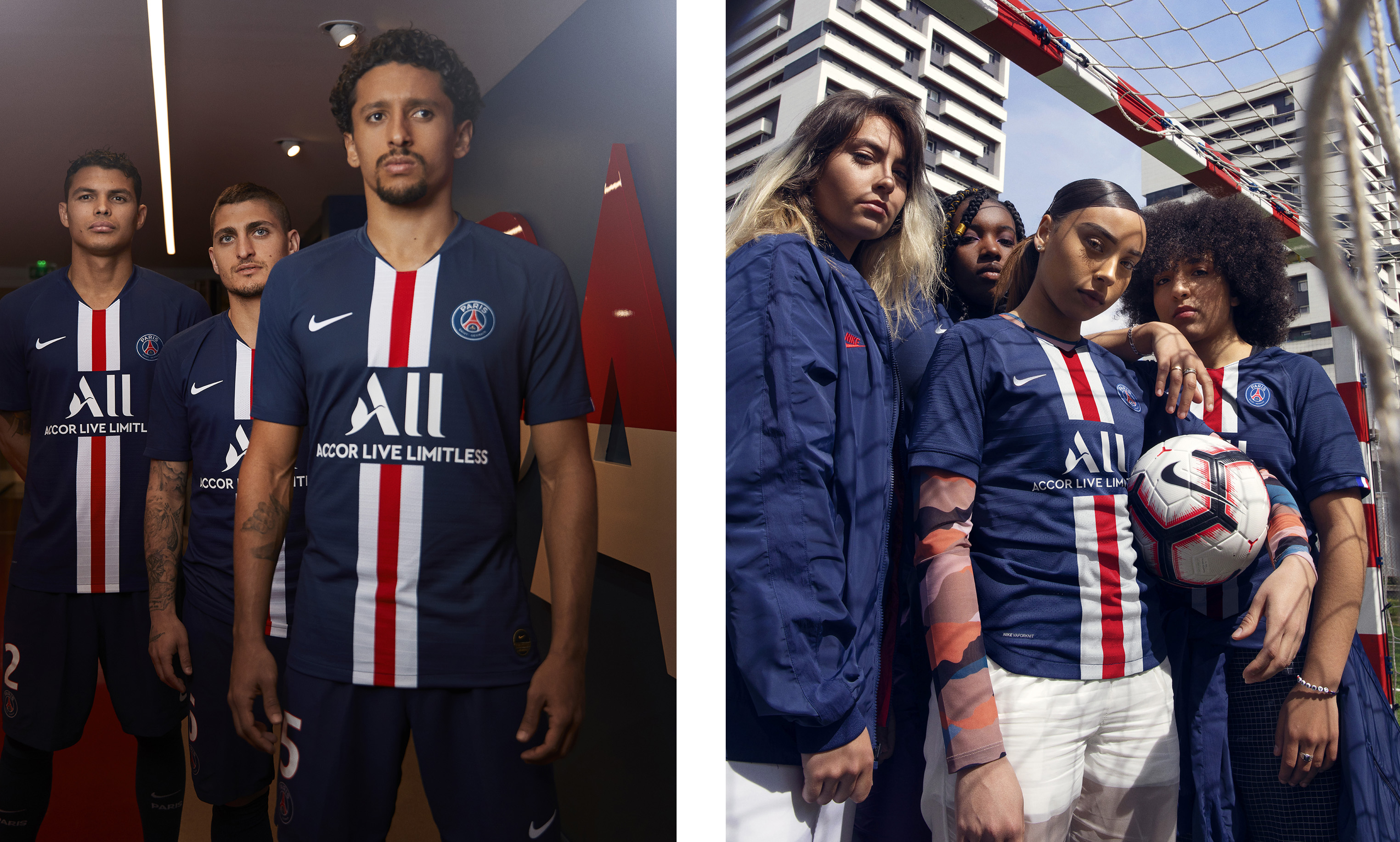 New Paris Saint-Germain home kit