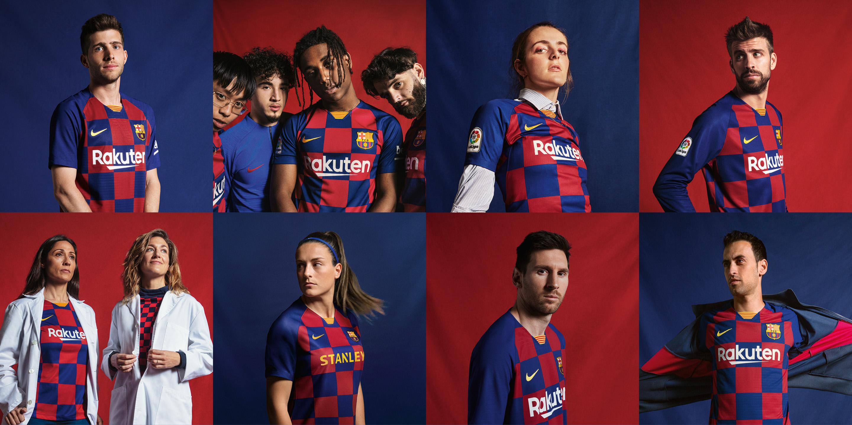 Nový domácí dres FC Barcelona