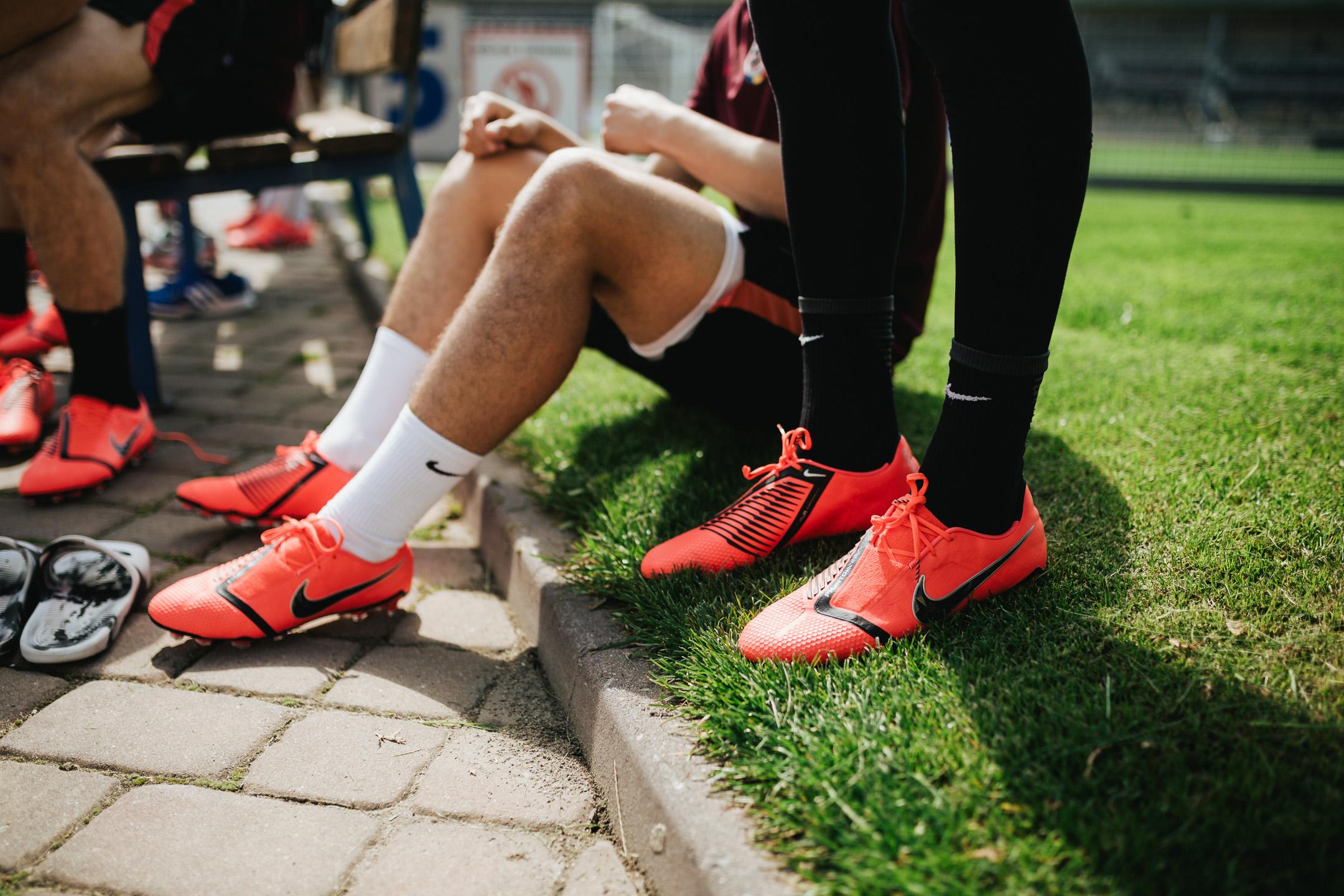 Testování kopaček Nike PhantomVNM