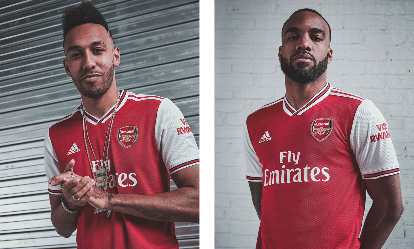 New Arsenal home kit