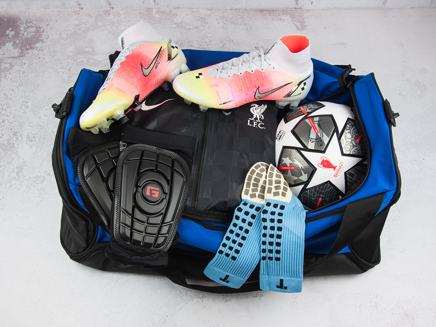 How to pack a football bag