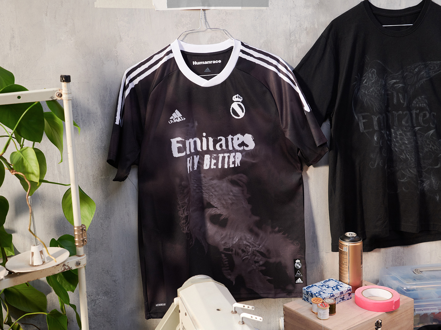 adidas Real Madrid Human Race kit