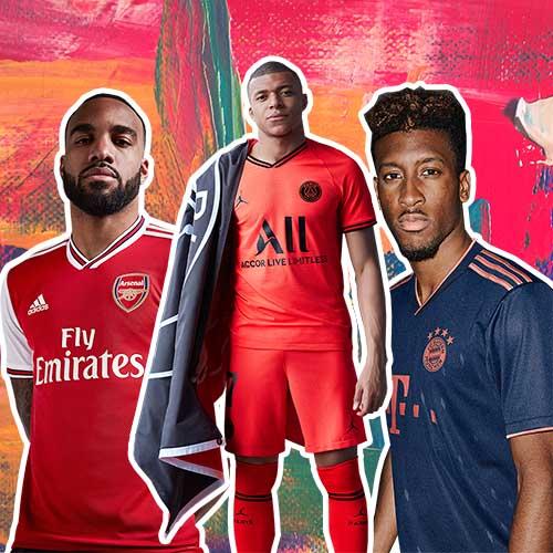 Las 10 mejores camisetas de fútbol de la temporada 201920