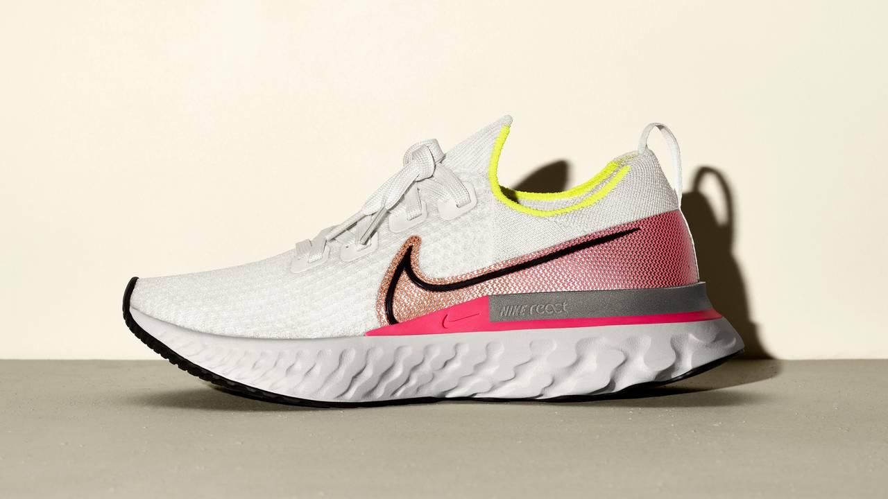 Nike React Infinity Run pas plus de blessures en course à