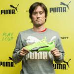 TOP4FOOTBALL TV - Tomáš Rosický a nové kopačky Puma evoPOWER