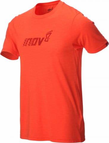 Pánské triko s krátkým rukávem INOV-8 TRI BLEND SS division