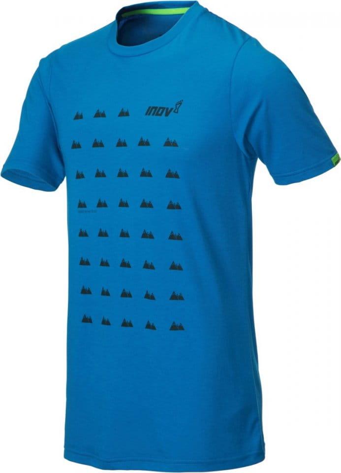 Tee-shirt INOV-8 INOV-8 TRI BLEND SS grid Tee