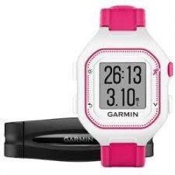 Hodinky Garmin Forerunner 25 HR White/Pink (vel. S)