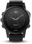 Hodinky Garmin Garmin fenix5S Sapphire Black Optic, Black band