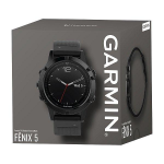 Hodinky GARMIN fenix5 Sapphire black Optic – 3