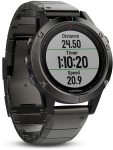Hodinky Garmin GARMIN fenix5 Sapphire Gray Optic, Metal Band
