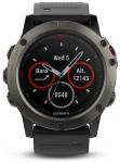 Tracker Garmin Garmin fenix5X Sapphire Gray Optic, Black
