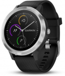 Ceas Garmin GARMIN vivoActive3 Optic Silver, Black band