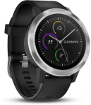 Garmin GARMIN vivoActive3 Optic Silver, Black band Karórák