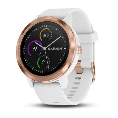 Orologi Garmin Garmin vívoactive3 Optic Rose Gold, White band