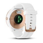 Uhren Garmin Garmin vívoactive3 Optic Rose Gold, White band