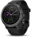 Hodinky Garmin GARMIN vivoActive3 Optic Grey PVD, Black band