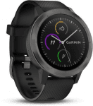 Garmin GARMIN vivoActive3 Optic Grey PVD, Black band Karórák