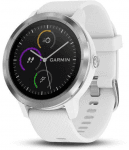 GARMIN vivoActive3 Optic Silver, White band