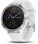 Ceas Garmin GARMIN vivoActive3 Optic Silver, White band