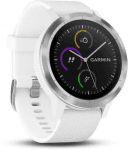 Garmin GARMIN vivoActive3 Optic Silver, White band Karórák