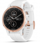 Watch Garmin Garmin fenix5S Plus Sapphire Rose Gold, White Band