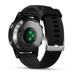 Ceas Garmin Garmin fenix5S Plus Silver, Black Band