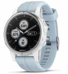 Uhren Garmin Garmin fenix5S Plus White, Seafoam Band