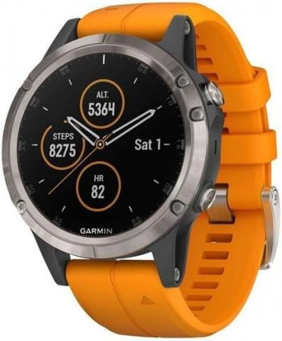 Horloge Garmin Garmin fenix5 Plus Sapphire Titanium