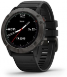 Garmin fenix6X Sapphire, GrayDLC/Black Band (MAP/Music)
