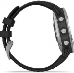 Garmin Garmin fenix6 Glass, Silver/Black Band Karórák