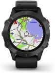 Reloj Garmin Garmin fenix6 Sapphire, Gray/Black Band (MAP/Music)