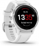 Hodinky Garmin Garmin fenix6S Glass, Silver/White Band