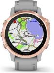 Reloj Garmin Garmin fenix6S Sapphire, RoseGold/Gray Band (MAP/Music)