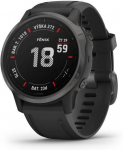 Hodinky Garmin Garmin fenix6S Sapphire, Gray/Black Band (MAP/Music)