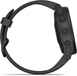 Garmin Garmin fenix6S PRO Glass, Black/Black Band (MAP/Music) Karórák
