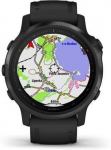 Hodinky Garmin Garmin fenix6S PRO Glass, Black/Black Band (MAP/Music)