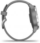 Hodinky Garmin Garmin vívoactive4S Silver/Gray Band