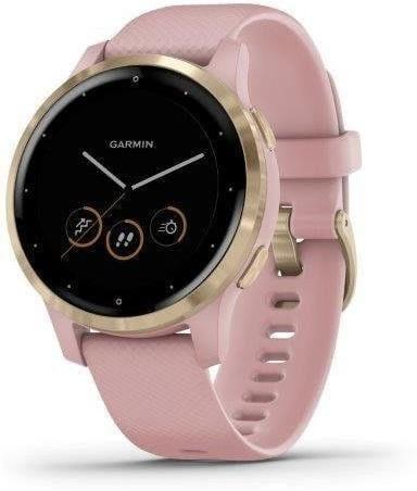 Horloge Garmin Garmin vívoactive4S LightGold/Pink Band