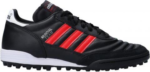 Football shoes adidas Mundial Team TF Red Stripes Schwarz