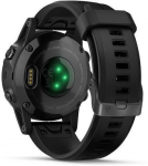 Garmin Garmin fenix5S Plus Sapphire Black, Black Band, Performer TRI Bundle Karórák