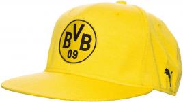 BVB Stretchfit Logo Cap Cyber Yellow
