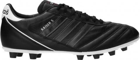 adidas Kaiser 5 Liga FG Black Stripes Schwarz Futballcipő