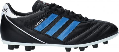 Football shoes adidas Kaiser 5 Liga FG Blue Stripes Schwarz