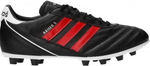 Football shoes adidas Kaiser 5 Liga FG Red Stripes Schwarz